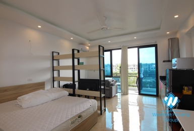 Lake view studio for rent in Trinh Cong Son, Tay Ho