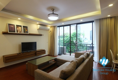 Spacious two bedrooms apartment for rent in To Ngoc Van, Tay Ho