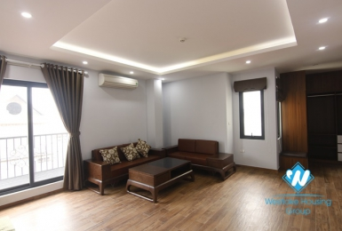 Spacious two bedrooms apartment for rent in Hoang Hoa Tham, Ba Dinh