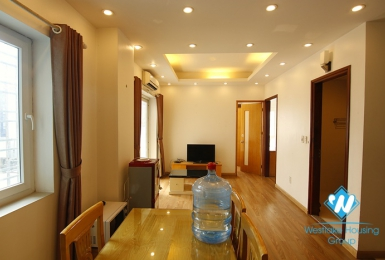 An affordable price 2 bedrooms apartment for rent in Dao Tan, Ba Dinh