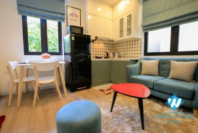 A cozy one bedroom apartment for rent in Ong Ich Khiem, Ba Dinh