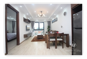 Two bedrooms apartment for rent near Vincom Ba Trieu, Hai Ba Trung district