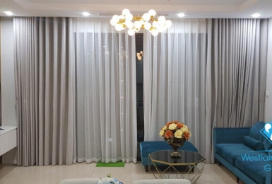 A well-designed three bedrooms apartment for rent in D'capital, Tran Duy Hung, Cau Giay
