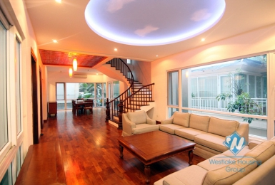 Tay Ho - modern swimming pool house for rent with lots of natural light