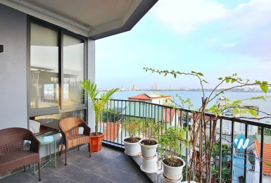 Top floor serviced apartment for rent in Quang Khanh st, Tay Ho