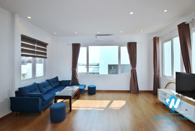 Spacious one bedroom apartment for rent in Tu Hoa street, Tay Ho
