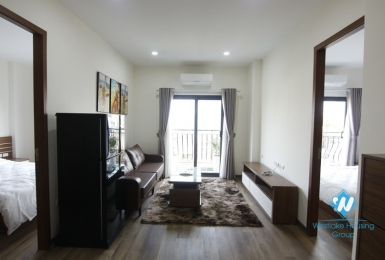 Brand new 2 bedrooms apartment for rent in Dao Tan, Ba Dinh