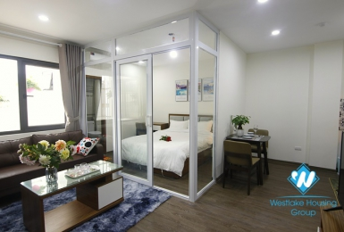 A pretty one bedroom apartment for rent in Dao Tan, Ba Dinh
