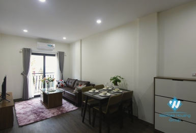 A newly one bedroom apartment for rent in Dao Tan, Ba Dinh