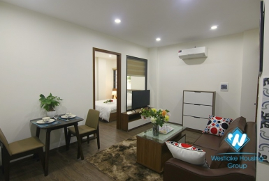 A beautiful apartment for rent in Dao Tan street, Ba Dinh, Ha Noi