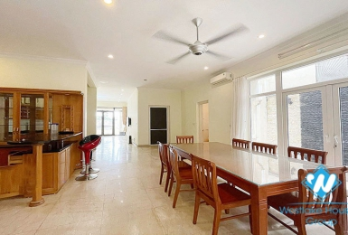 A huge, furnished villa located in T Block, Ciputra for rent