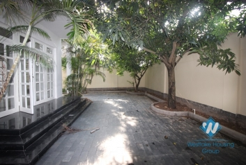 A beautiful modern and unfurnished villa in Ciputra for rent