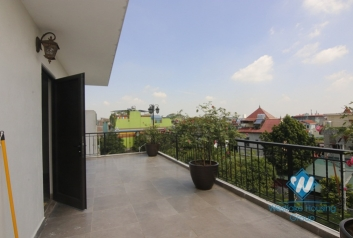 A brilliant house with terrace for rent in Long Bien District