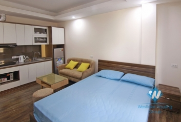 Nice and new studio for rent on Huynh Thuc Khang, Dong Da