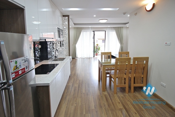 A new apartment with 2 bedrooms for rent in Tay Ho, Ha Noi