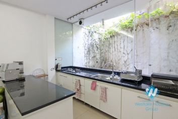Interesting house 3 bedrooms for rent in Tay Ho, Hanoi