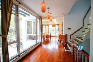 Modern house for rent on To Ngoc Van, Tay Ho