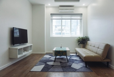 Newly renovated one bedroom apartment for rent in Ba Dinh