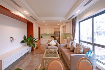 Deluxe apartment for rent in Truc Bach, Ba Dinh