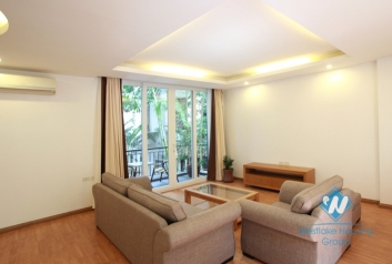 Nice 3 bedroom apartment for lease on Dang Thai Mai, Tay Ho, Ha Noi