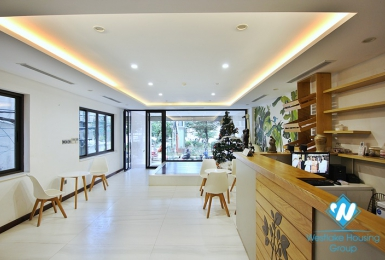A Brand-new spacious office with the lake view for rent in Tu Hoa