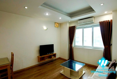 Spacious one bedroom apartment for rent in Ba Dinh