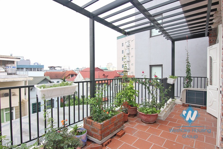 Lovely balcony apartment for rent in Tay Ho
