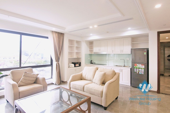Elegant apartment for rent in Truc Bach, Ba Dinh