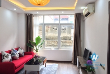 Serviced apartment for rent with Japanese cable TV on Linh Lang, Ba Dinh