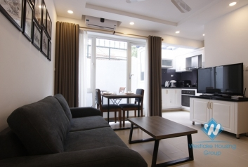 Brandnew ground floor apartment for rent in Tay Ho, close to West lake