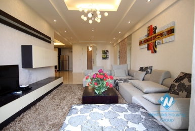 Nice 3 bedrooms apartment for rent in Tay Ho, Hanoi
