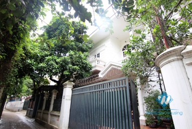 Rental house in Tay Ho - 4 bedrooms with balcony