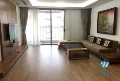 A modern 3 bedroom apartment for rent in Vinhome Nguyen Chi Thanh