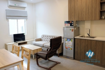 A 2 bedroom apartment with balcony for rent in Ba Dinh, Ha Noi