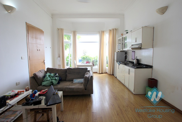 One bedroom serviced apartment for rent in Tay Ho