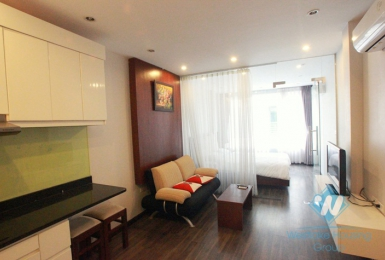 01 bedroom apartment for rent in Truc Bach area, Hanoi