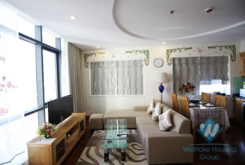 Perfect one bedroom apartment for ren tin Kim ma st, Ba Dinh area.