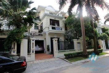 House with nice design for rent in Ciputra, Tay Ho, Hanoi- fully furnished