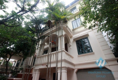 Lovely house with large yard for rent in Westlake, Tay Ho, Hanoi