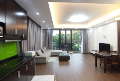 Modern 01 bedroom apartment for rent in Xuan Dieu, Tay Ho, Hanoi