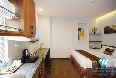 Good price studio for rent in Au Co street, Tay Ho district
