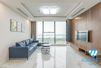 High floor three bedrooms apartment for rent in Sunshine City, Tay Ho