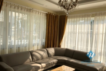Good Private 04 Bedrooms Villa With Cedrus Garden For Rent In Ecopark.