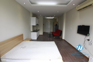 Studio for rent in Truc Bach area, Ba Dinh district, Hanoi
