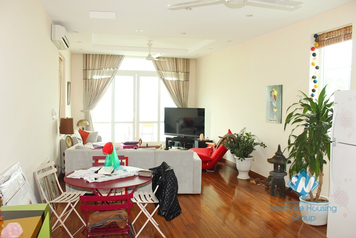 2 bedroom apartment with nice view for lease in Yen Phu village, Tay Ho, Hanoi
