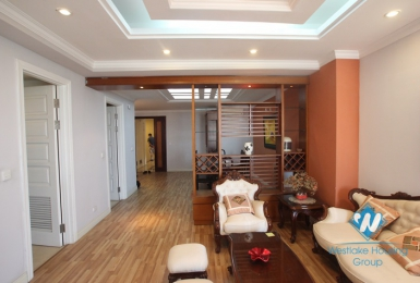 Apartment with nice furniture available for rent in Ciputra, Tay Ho, Hanoi