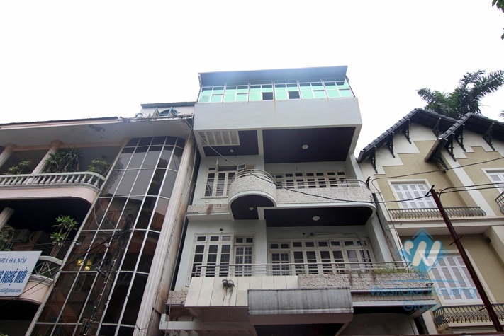 8 bedrooms house for rent in Tay Ho, Hanoi.