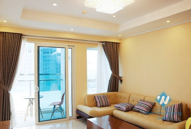 A charming and luxury 3 bedroom apartment for rent in Ciputra Compound