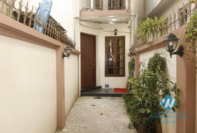 Three bedrooms house for rent in Ngoc Thuy street, Long Bien district, Hanoi