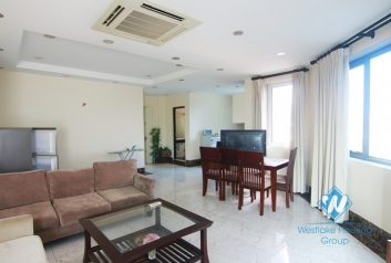 Big two bedrooms apartment for rent in Dong Da district, Ha Noi
